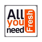 All you need Fresh Square Logo